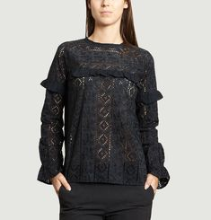 Canal Lace Blouse