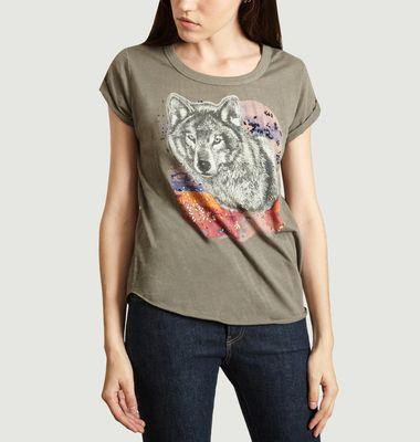 T-Shirt Tova Print Loup