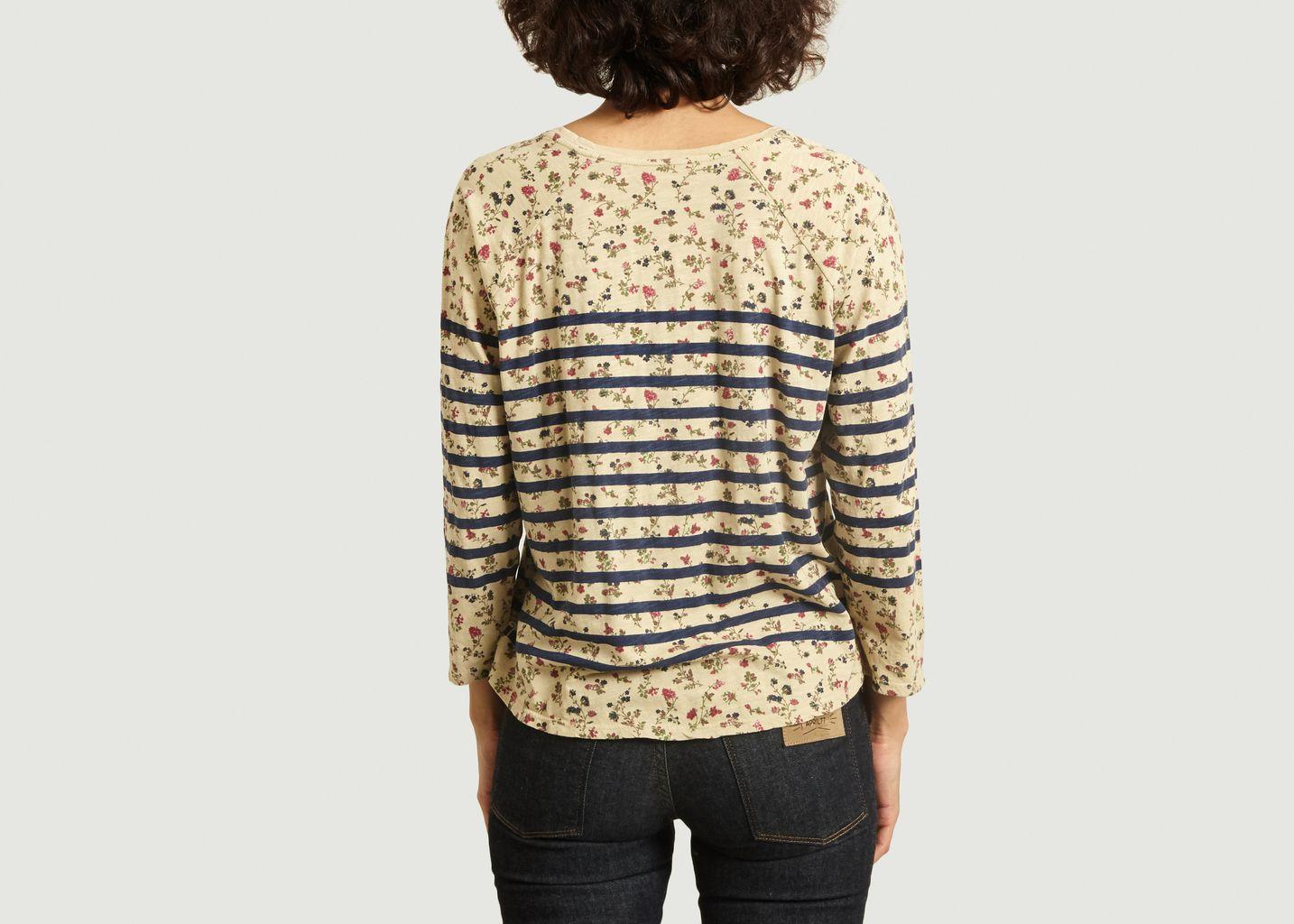 T-shirt manches 7/8e Tumtum Jardin - Leon & Harper