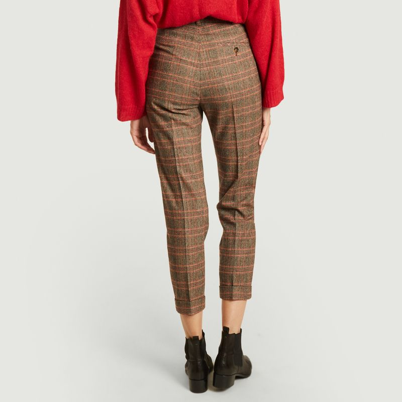 Pantalon 7/8e à carreaux Prosper - Leon & Harper