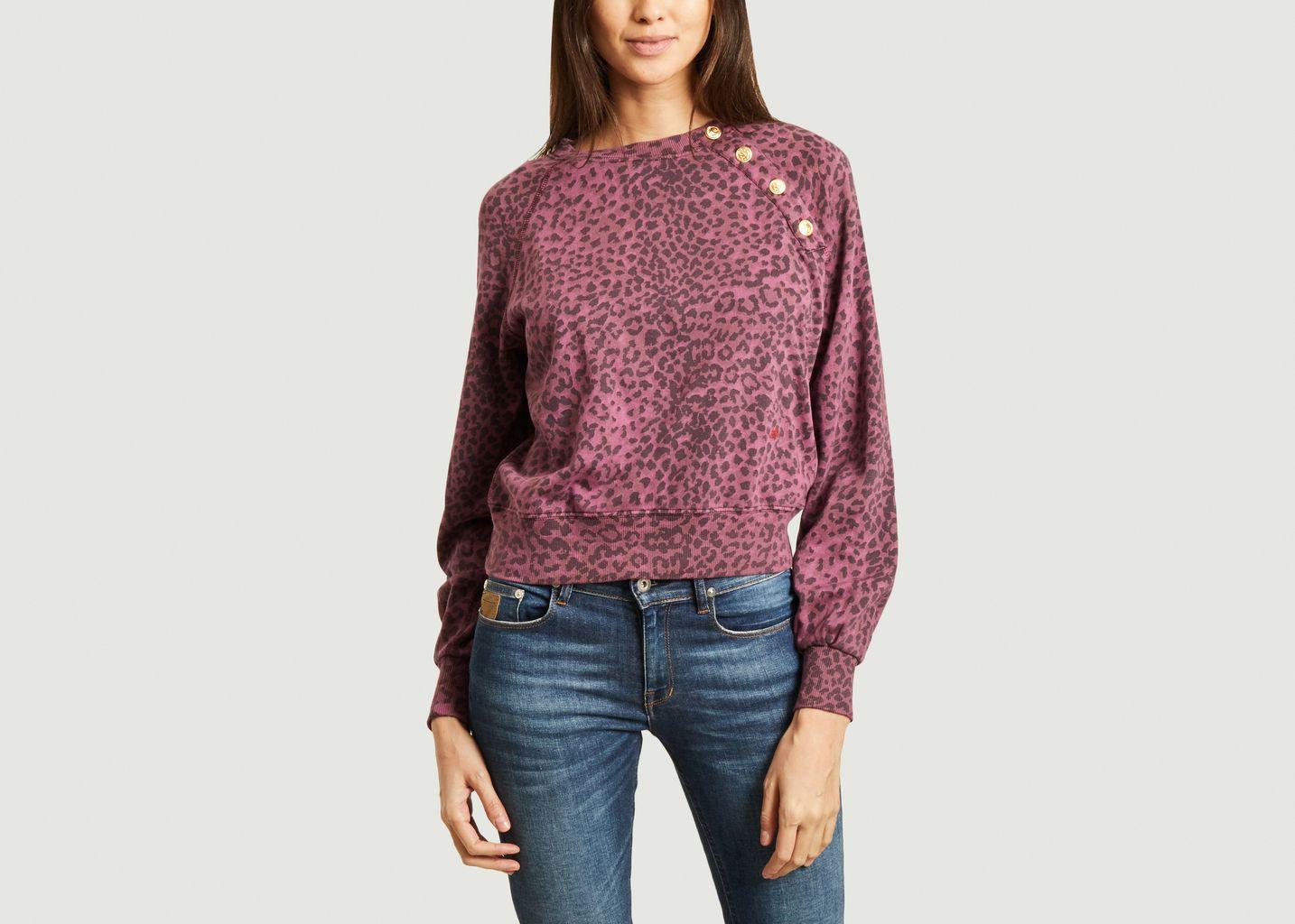 Sweatshirt imprimé léopard Song - Leon & Harper