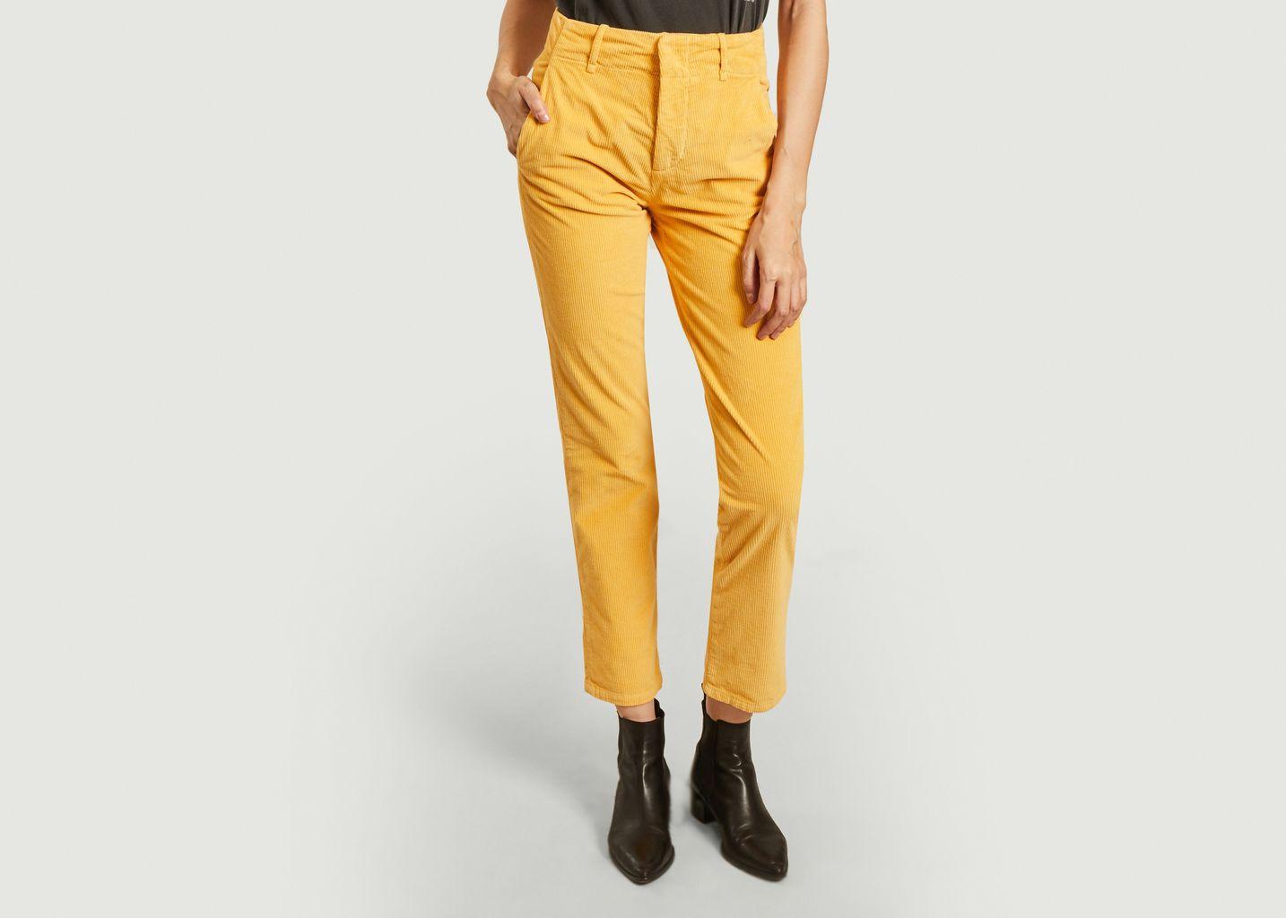 Pantalon en velours côtelé Poupée - Leon & Harper