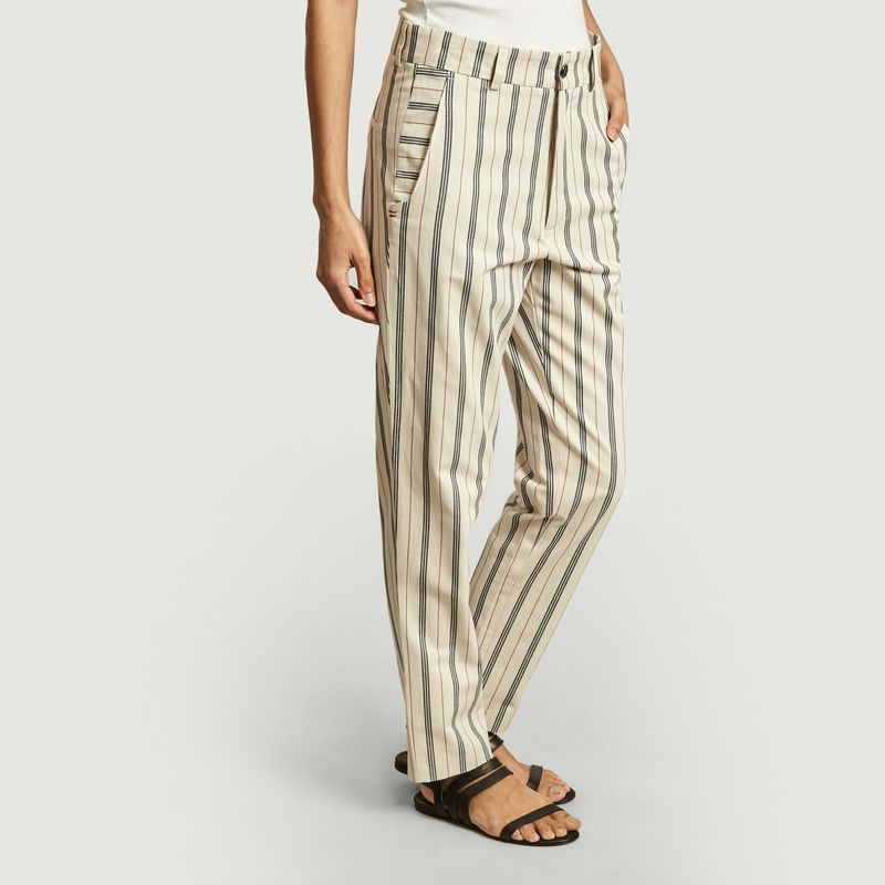 Pantalon Sadhu rayures golf - Les Expatriés