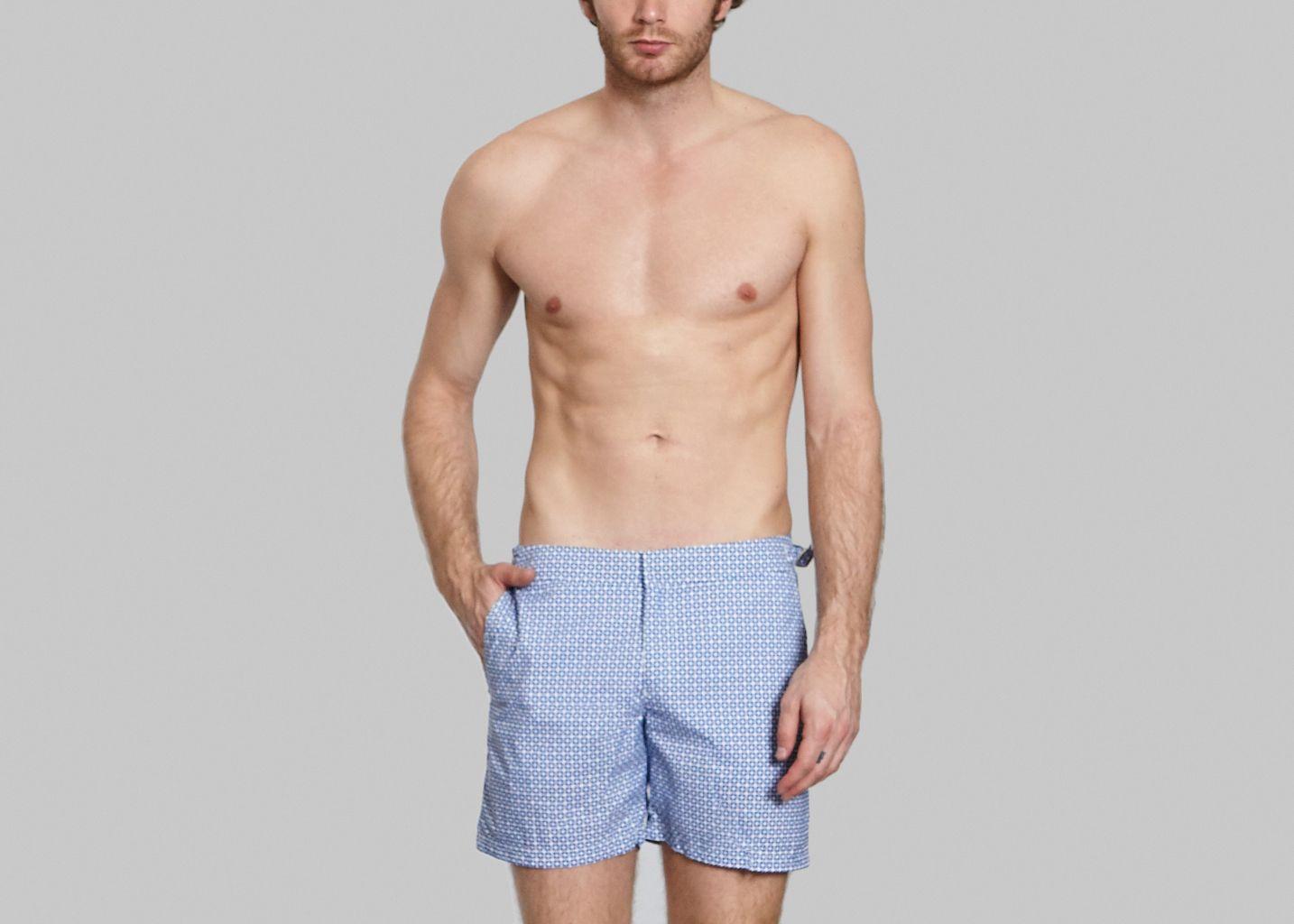 magnum barcelona swimming trunks light blue les garçons faciles l