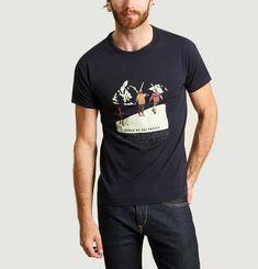 T-Shirt Print Ski Yann Morzine