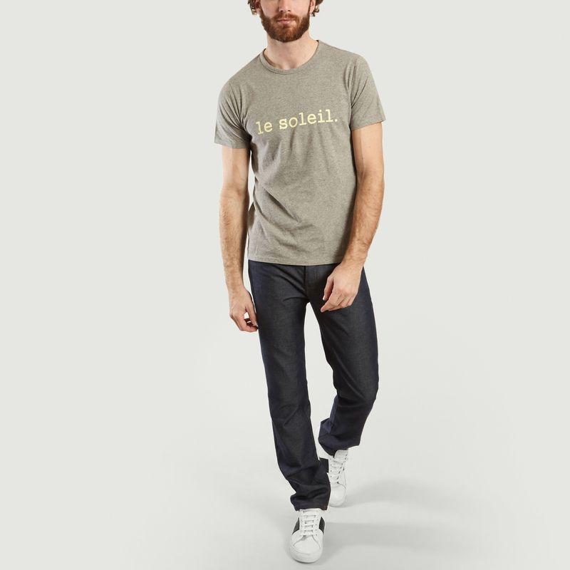 T-shirt à lettrage Yann Moody - Les Garçons Faciles