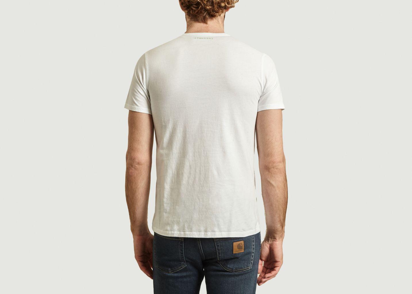 T-shirt à lettrage Yann Vacances - Les Garçons Faciles