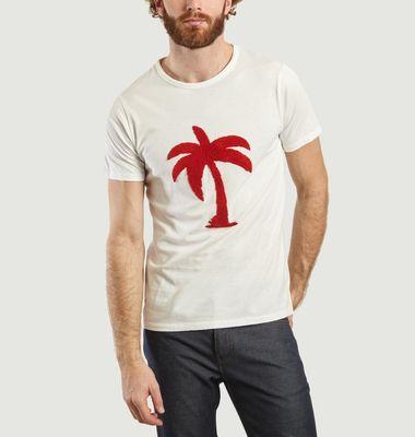 T-shirt brodé Yann Palm Spring