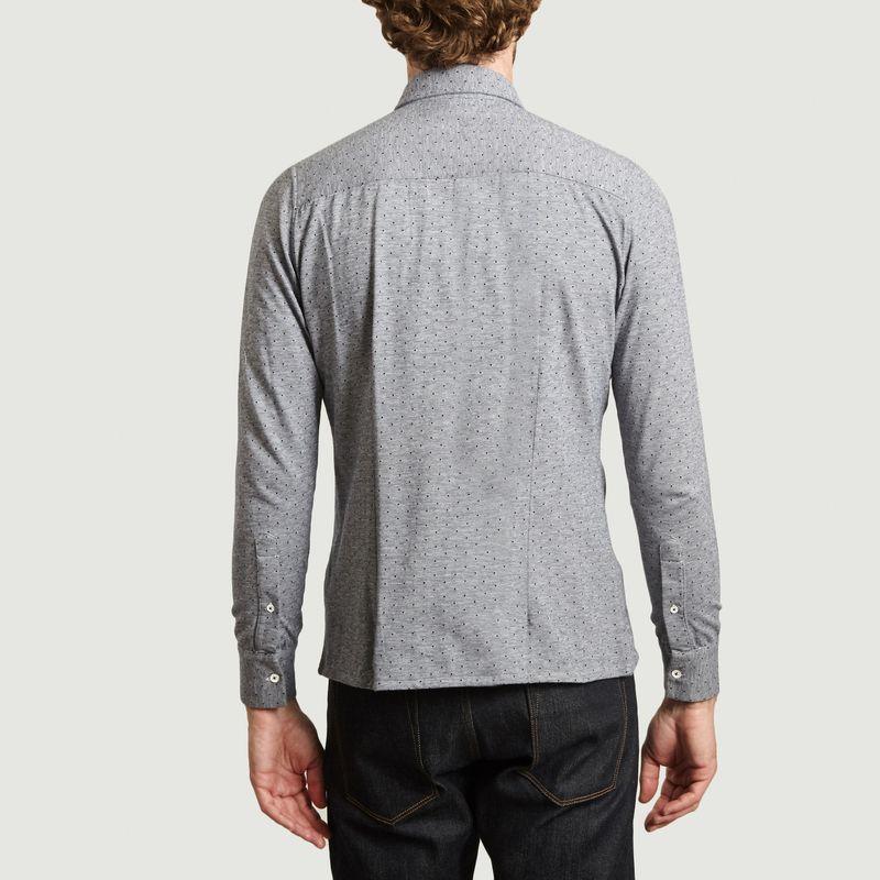 Chemise en jacquard à pois Mats Bristol - Les Garçons Faciles