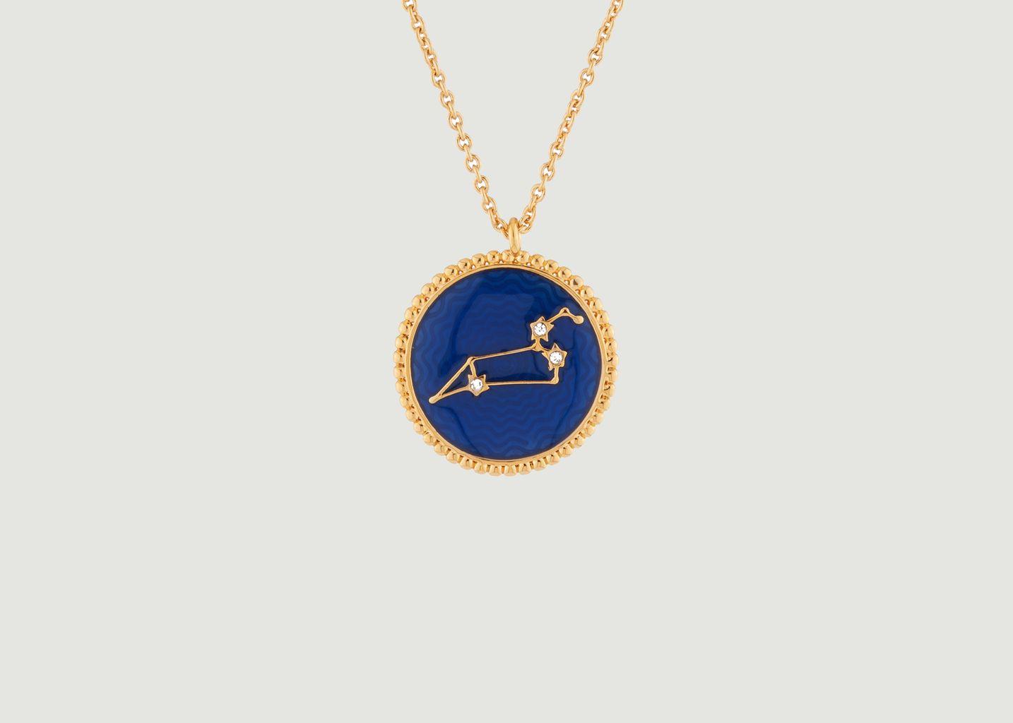 Collier avec pendentif signe astrologique Lion - Les Néréides