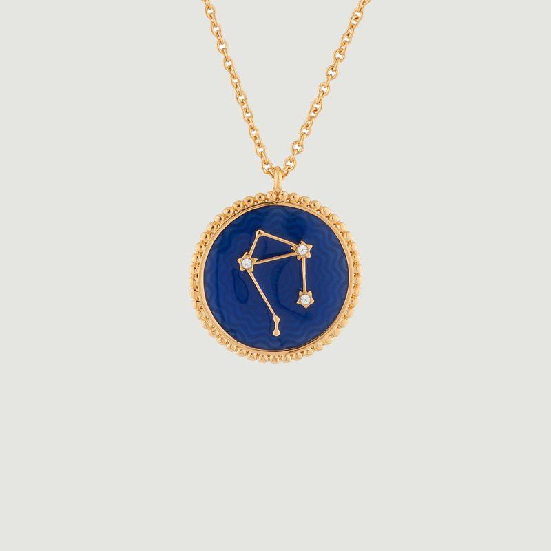 Collier avec pendentif signe astrologique Balance - Les Néréides