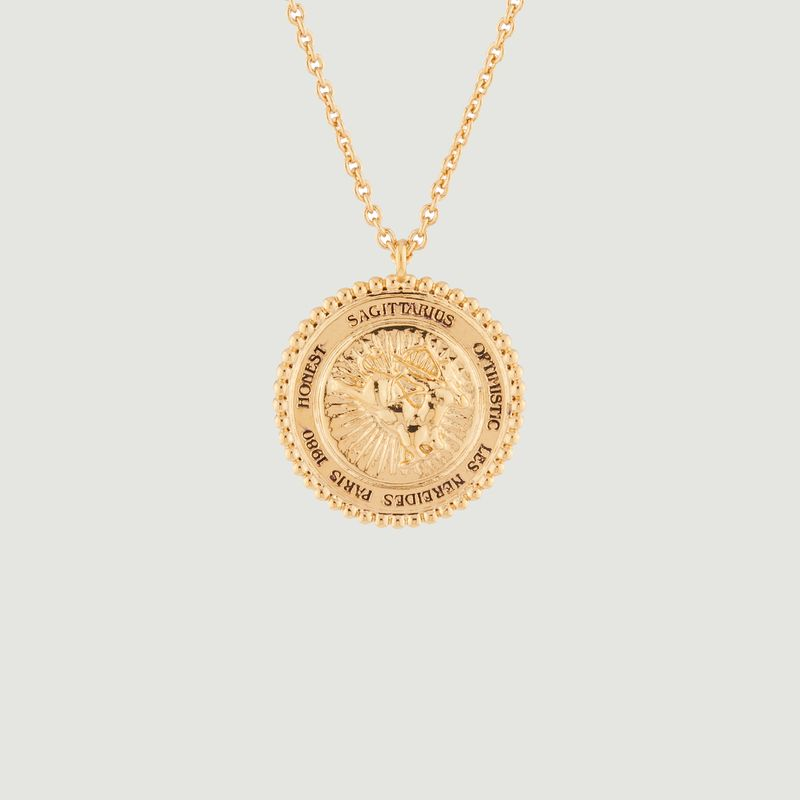Collier avec pendentif signe astrologique Sagittaire - Les Néréides