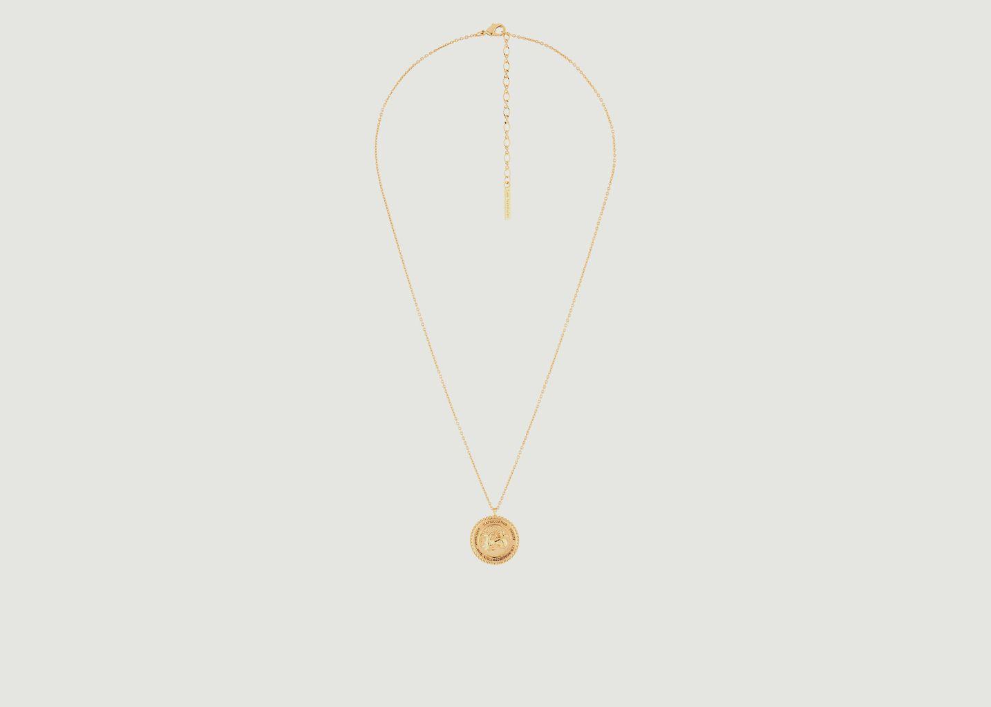 Collier avec pendentif signe astrologique Capricorne - Les Néréides