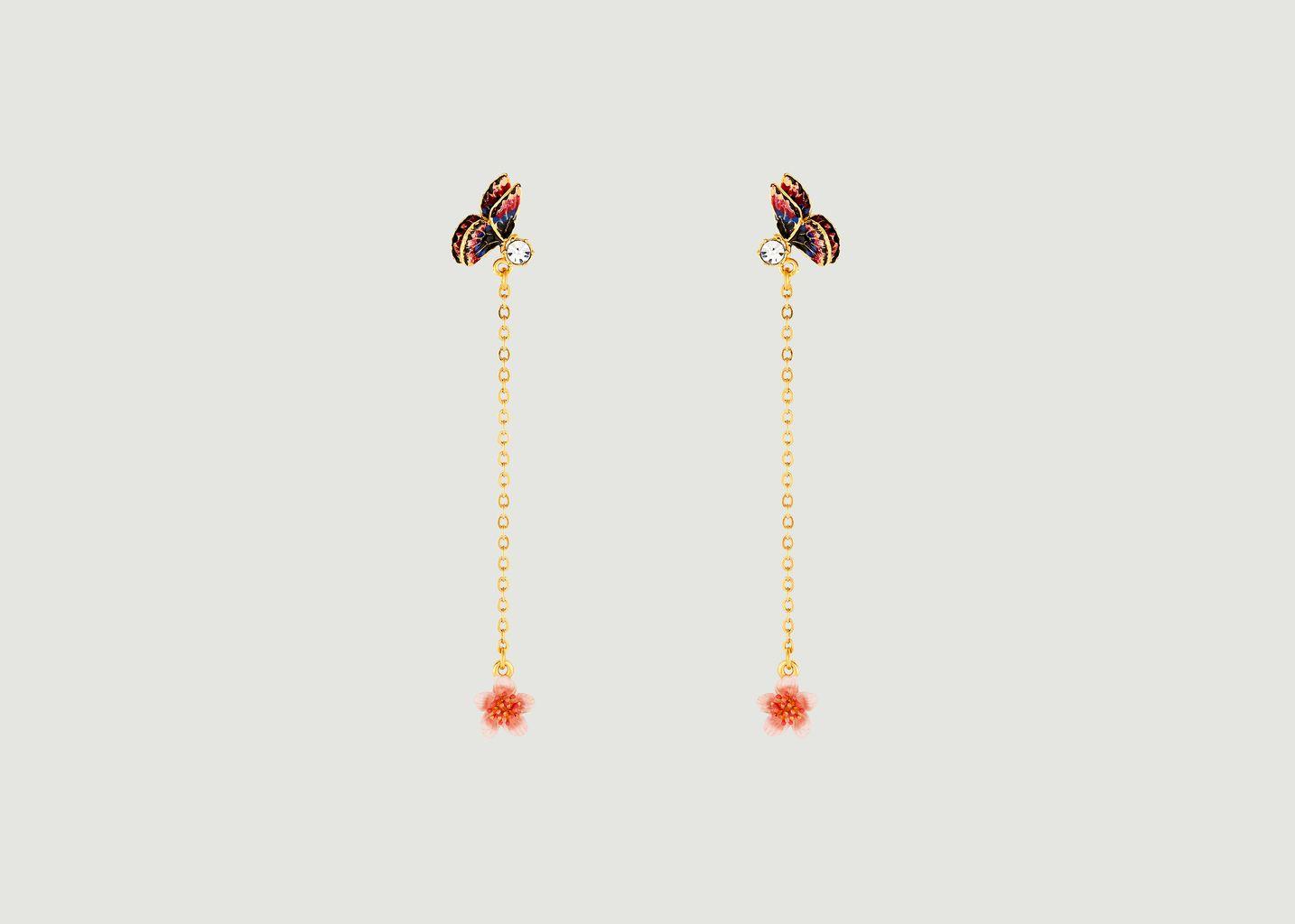 Boucles Pendantes Hanami - Les Néréides
