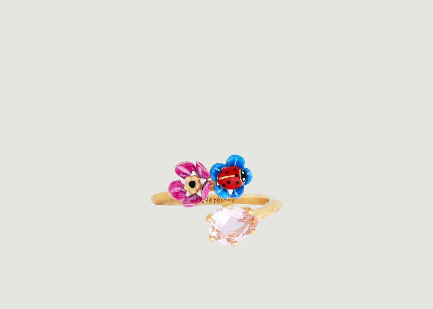 Bague ajustable Beautés Miniatures - Les Néréides