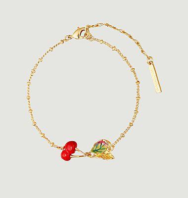 Bracelet fin Exquise Cerise