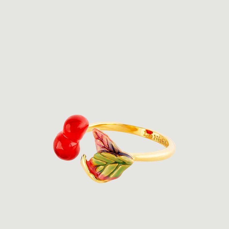 Bague ajustable Exquise Cerise - Les Néréides
