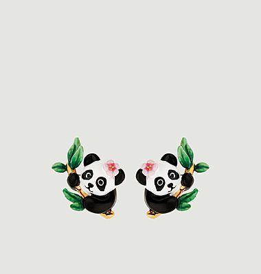 Boucles d'oreilles Fleur de Bambou