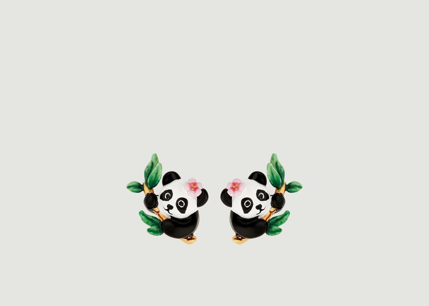 Boucles d'oreilles Fleur de Bambou - Les Néréides