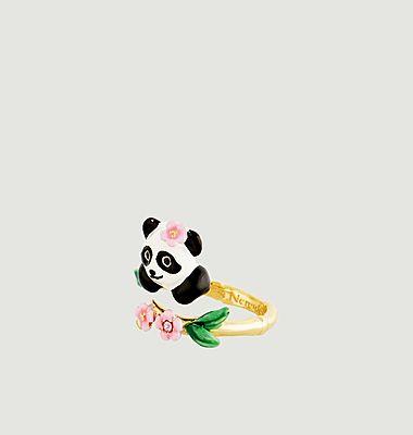 Bague ajustable Fleur de Bambou