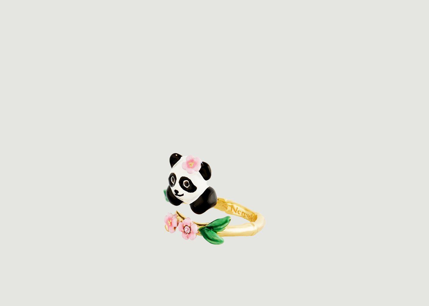 Bague ajustable Fleur de Bambou - Les Néréides