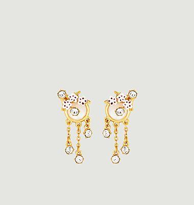 Boucles d'oreilles Hanami