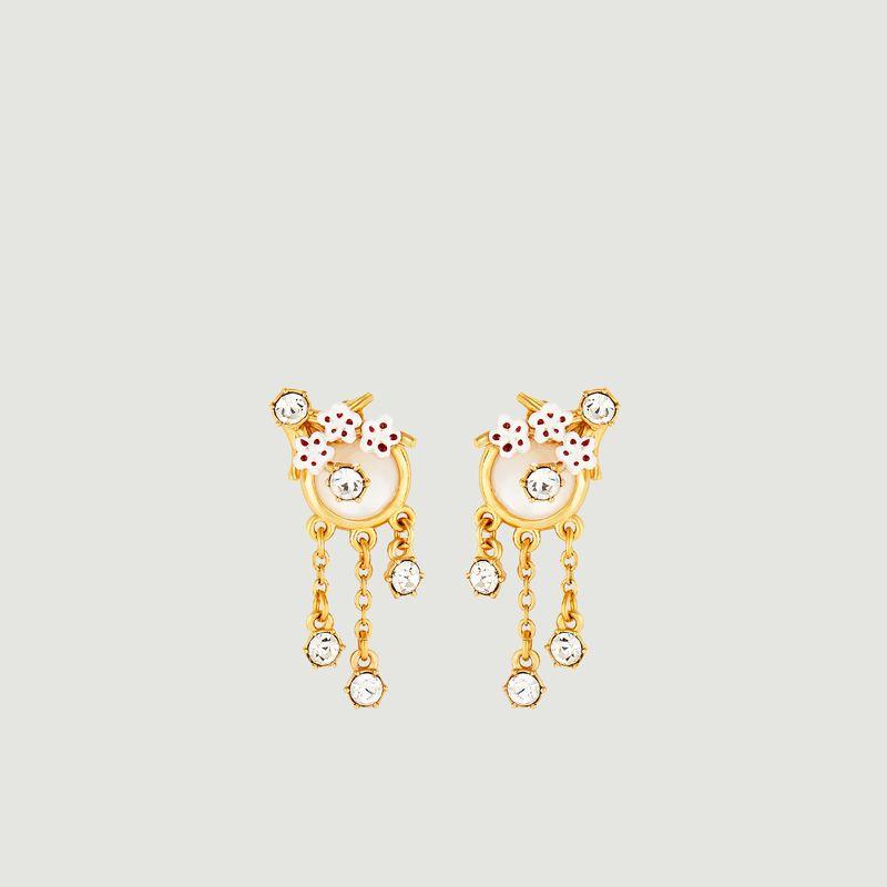 Boucles d'oreilles Hanami - Les Néréides