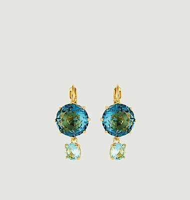 Boucles d'oreilles Dormeuses La Diamantine