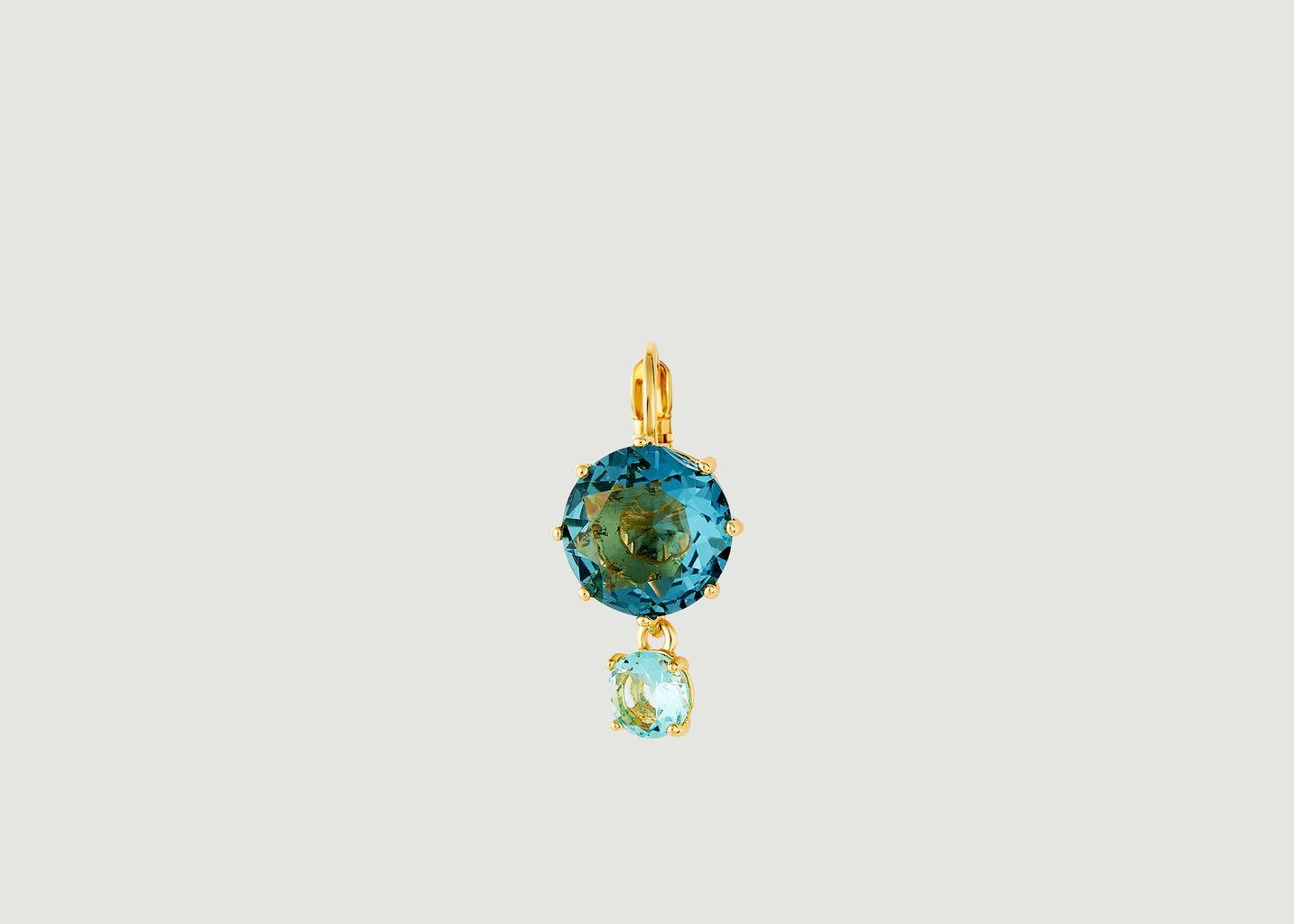 Boucles d'oreilles Dormeuses La Diamantine - Les Néréides