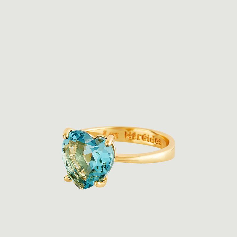 Bague Solitaire La Diamantine Coeur - Les Néréides