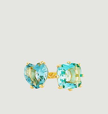 Bague ajustable Toi et Moi La Diamantine