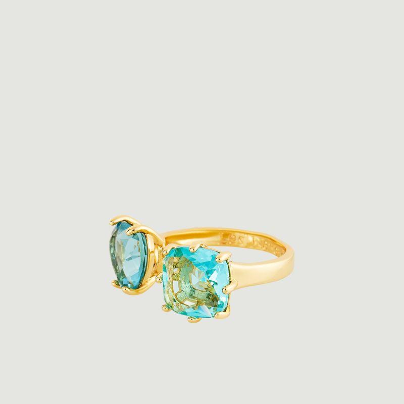 Bague ajustable Toi et Moi La Diamantine - Les Néréides