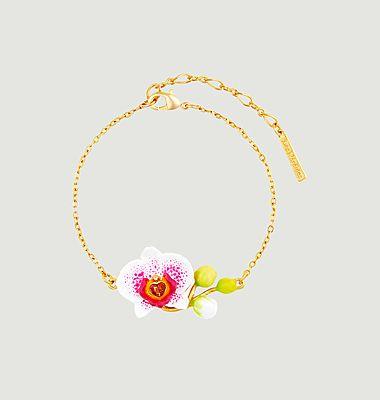 Bracelet fin Rêves d'Orchidées