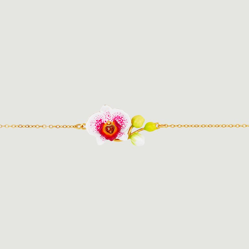 Bracelet fin Rêves d'Orchidées - Les Néréides
