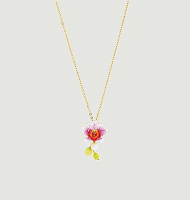 Collier Rêves d'Orchidées