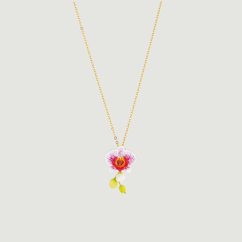 Collier Rêves d'Orchidées - Les Néréides