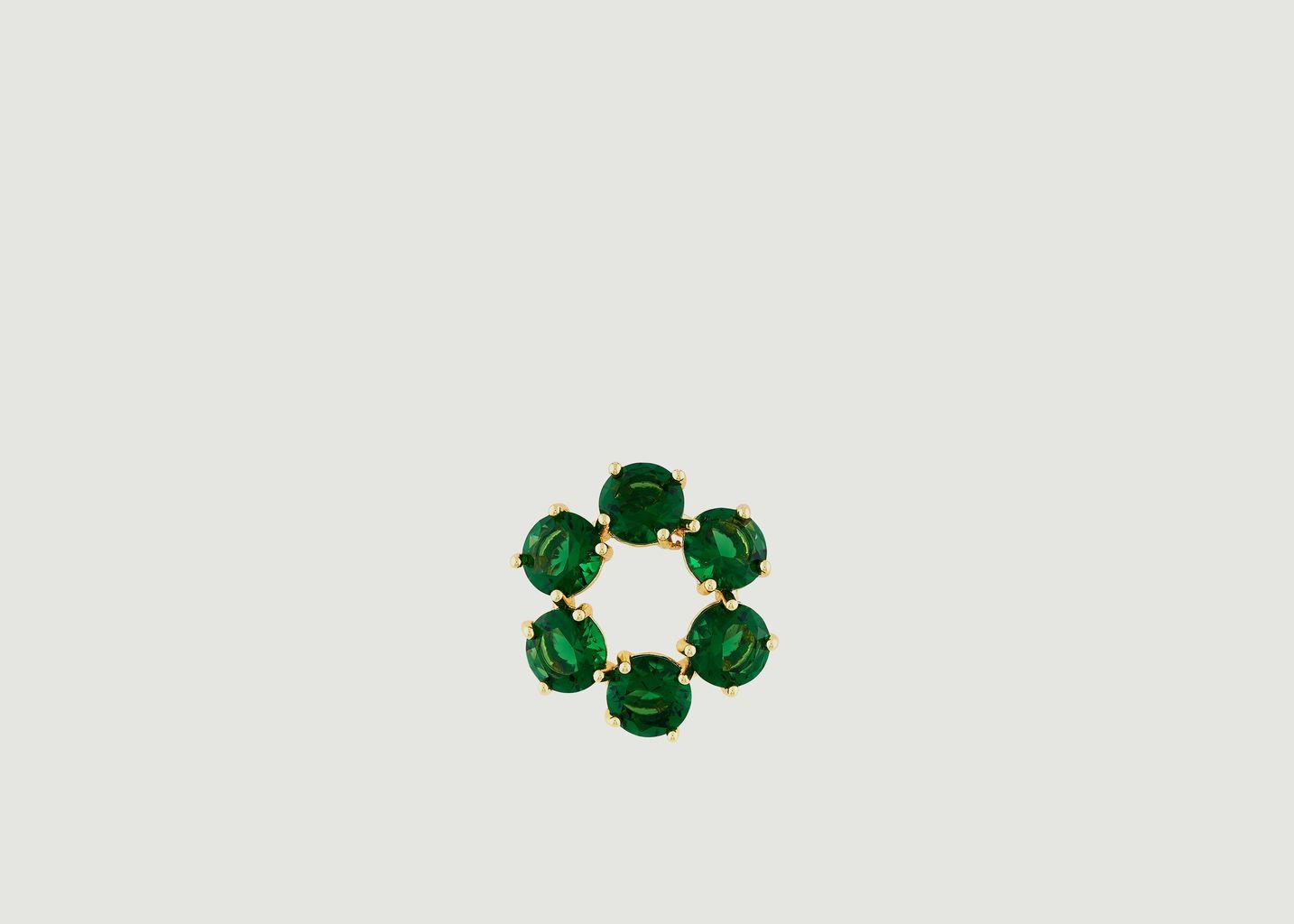 Boucles d'Oreilles La Diamantine - Les Néréides