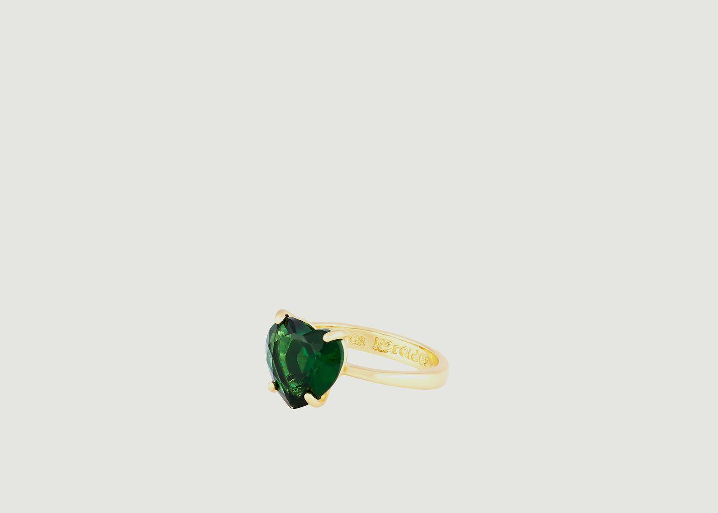 Bague Coeur La Diamantine - Les Néréides