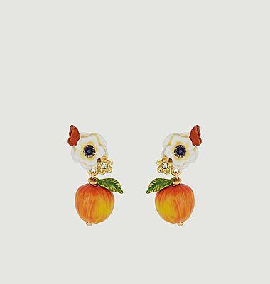 Boucles d'oreilles pendantes Petit Jardin