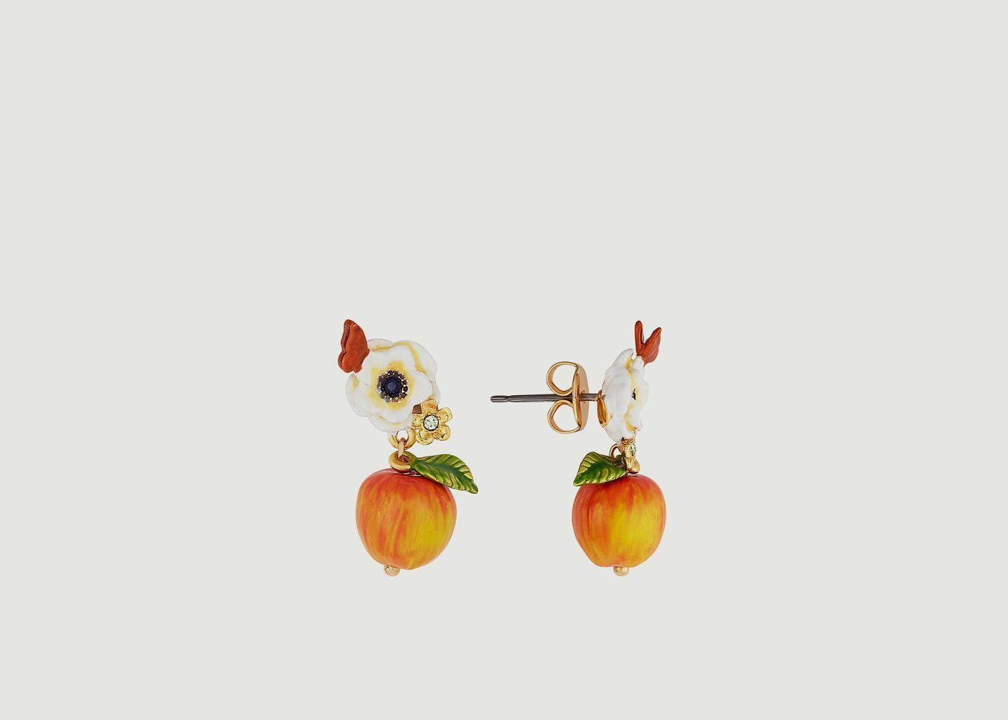 Boucles d'oreilles pendantes Petit Jardin - Les Néréides