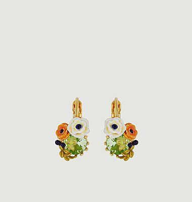 Boucles d'oreilles dormeuses Petit Jardin