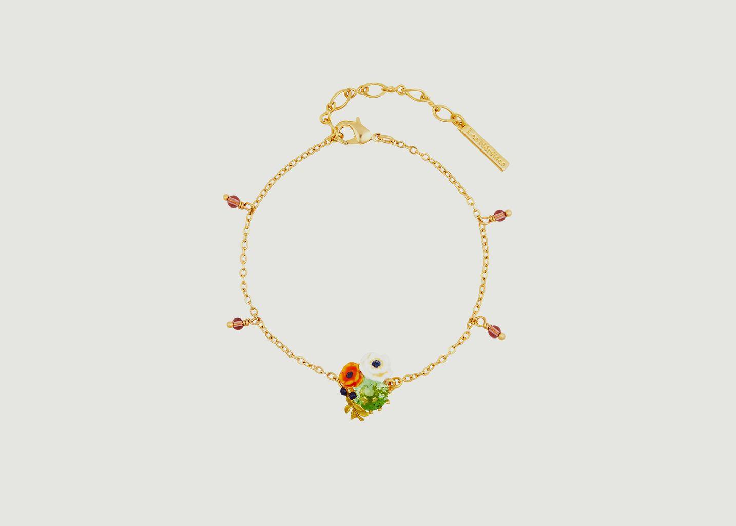 Bracelet charms Petit Jardin - Les Néréides