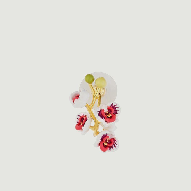 Boucles d'oreilles Orchidée Papillon - Les Néréides