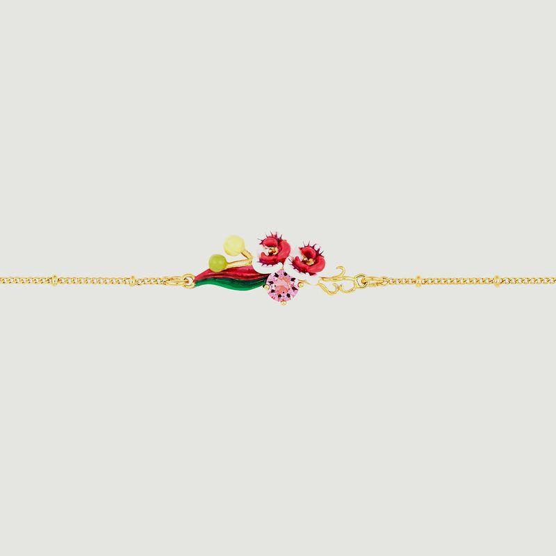 Bracelet fin Orchidée Papillon - Les Néréides