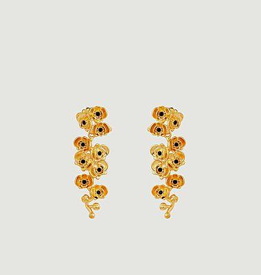 Boucles d'oreilles pendantes Les Flamboyantes
