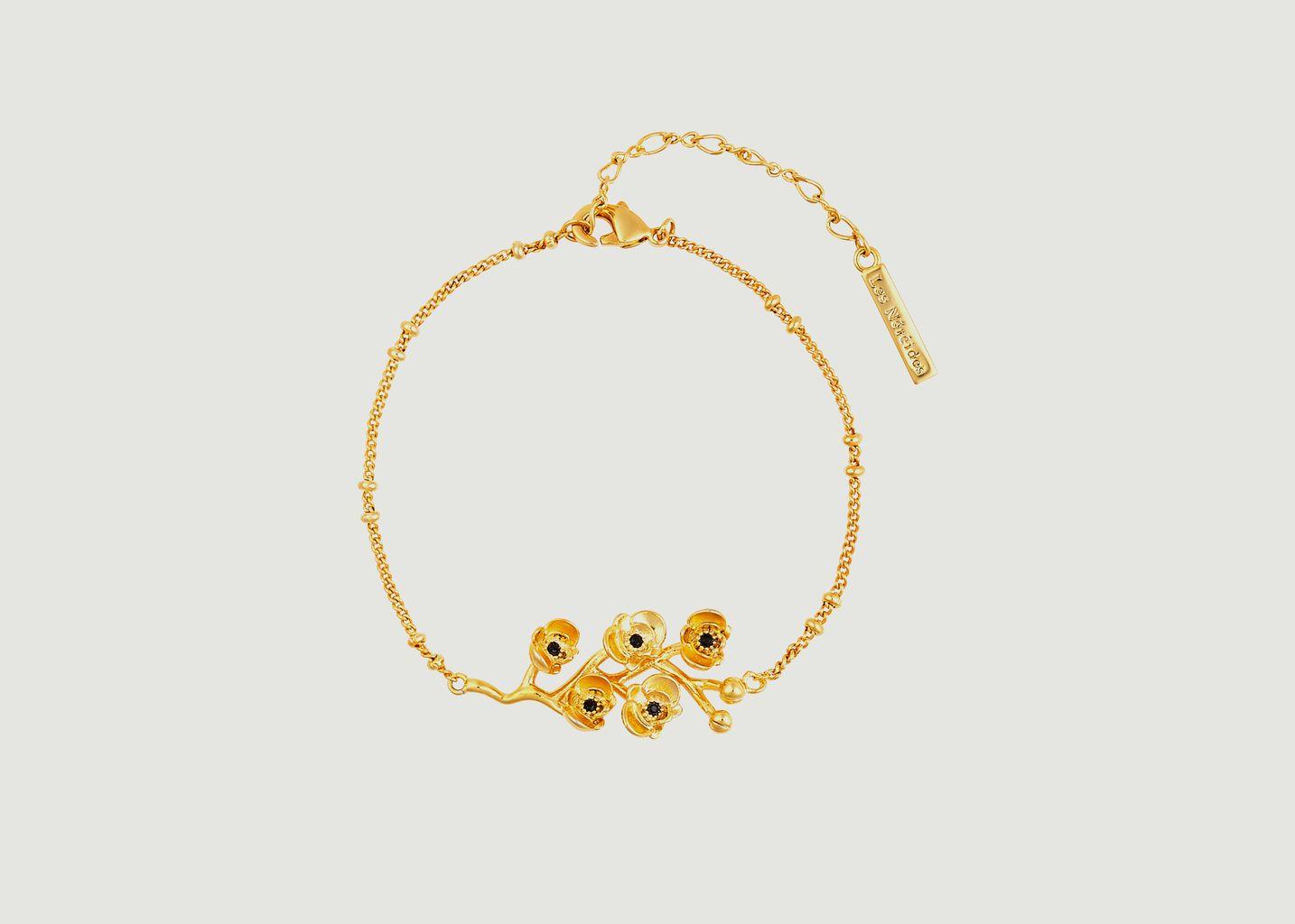 Bracelet fin Les Flamboyantes - Les Néréides
