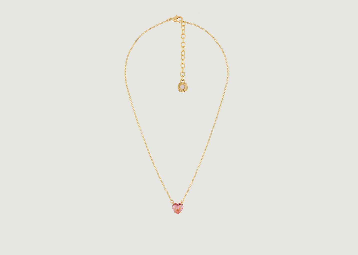 Collier La Diamantine Cœur - Les Néréides
