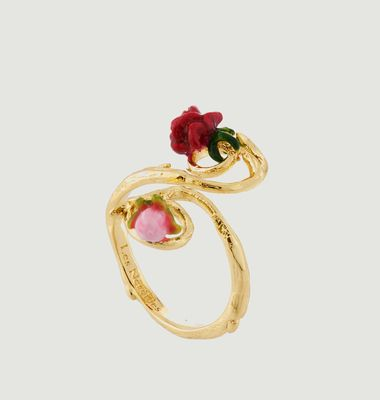 Adjustable Rose Ring
