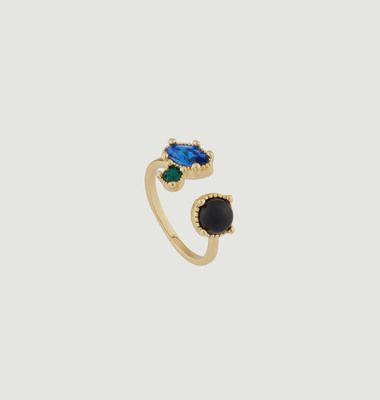 Toi Et Moi Onyx Ring