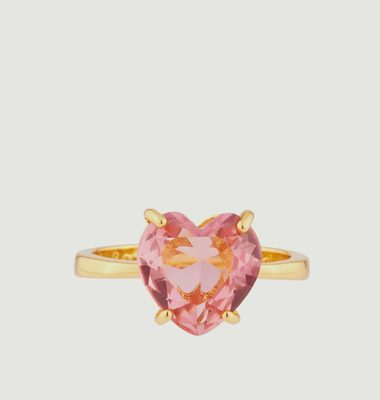 La Diamantine Heart Ring